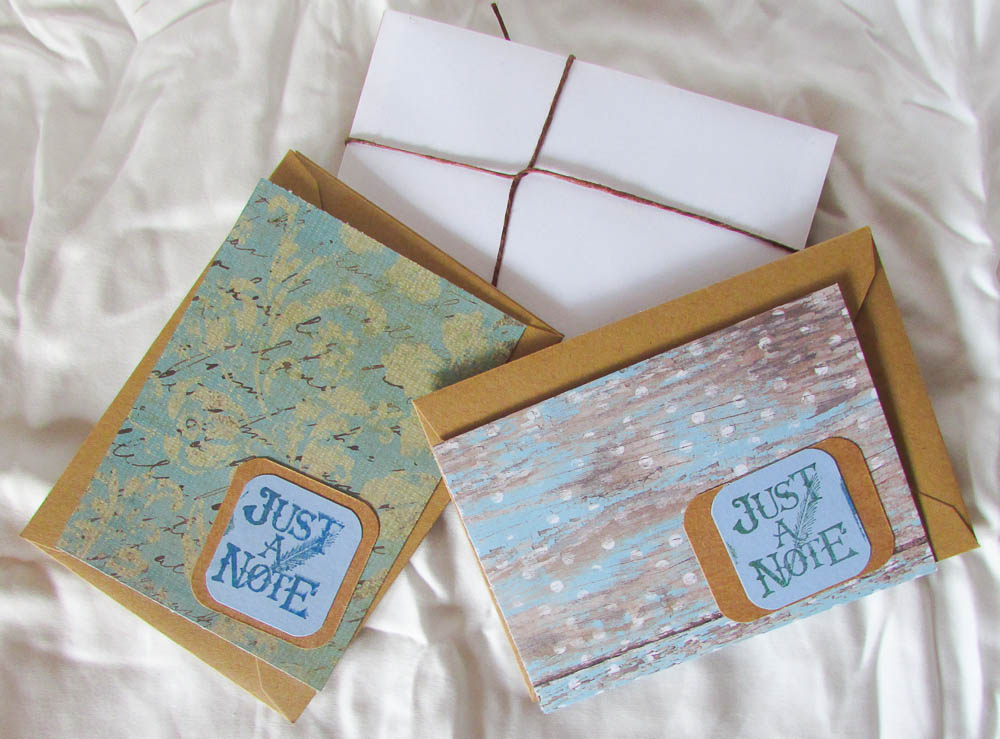 Just a Note- Note Cards
